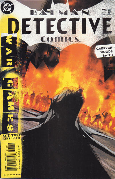 Cover for Detective Comics (DC, 1937 series) #798