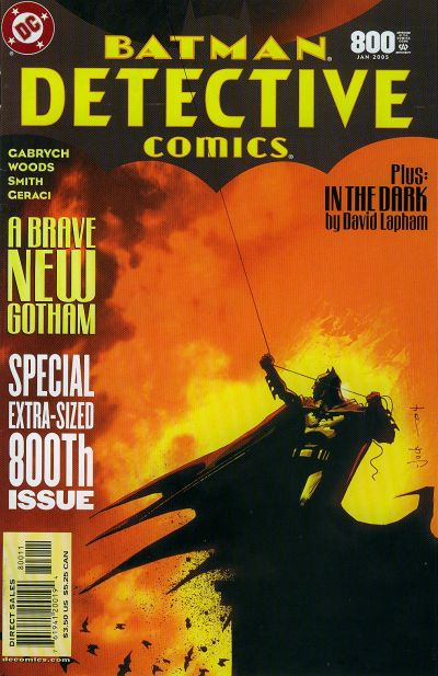 Cover for Detective Comics (DC, 1937 series) #800 [Direct Sales]