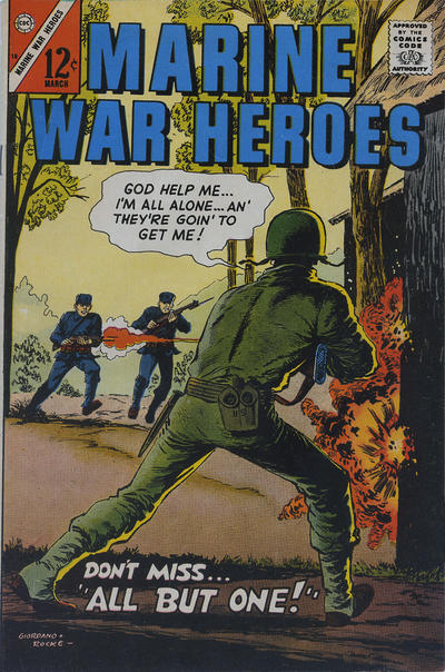 Cover for Marine War Heroes (Charlton, 1964 series) #18