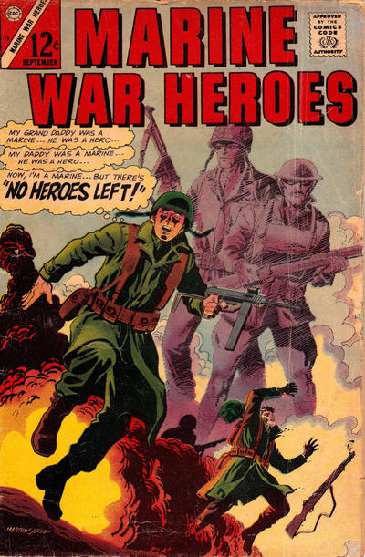 Cover for Marine War Heroes (Charlton, 1964 series) #15
