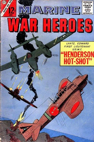 Cover for Marine War Heroes (Charlton, 1964 series) #3