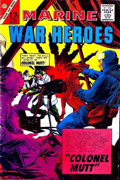 Cover for Marine War Heroes (Charlton, 1964 series) #4