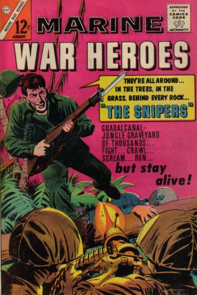 Cover for Marine War Heroes (Charlton, 1964 series) #6
