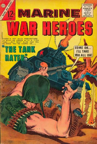 Cover for Marine War Heroes (Charlton, 1964 series) #7