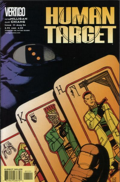 Cover for Human Target (DC, 2003 series) #11
