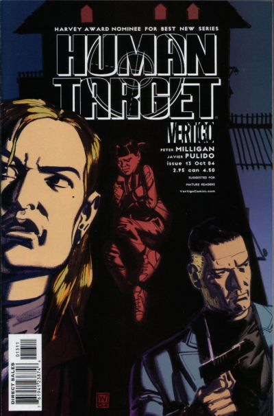 Cover for Human Target (DC, 2003 series) #13