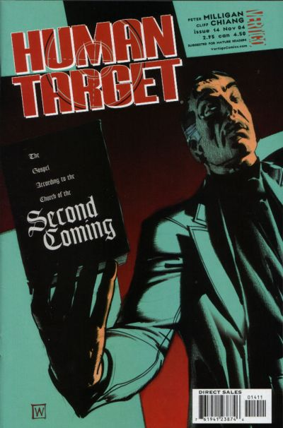 Cover for Human Target (DC, 2003 series) #14