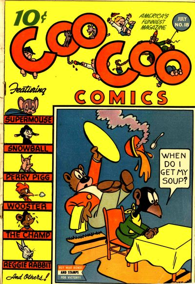 Cover for Coo Coo Comics (Pines, 1942 series) #18