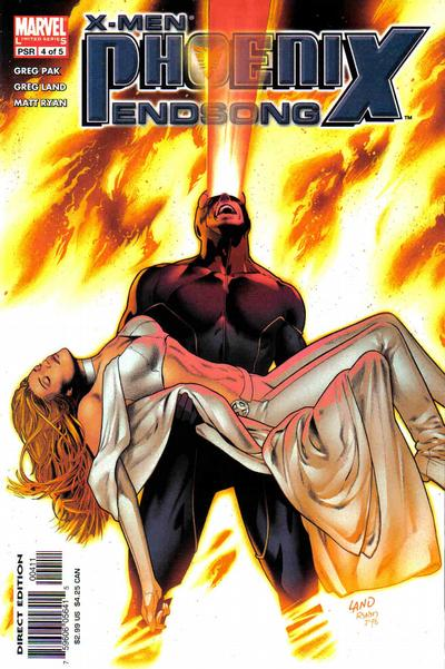 Cover for X-Men: Phoenix - Endsong (Marvel, 2005 series) #4