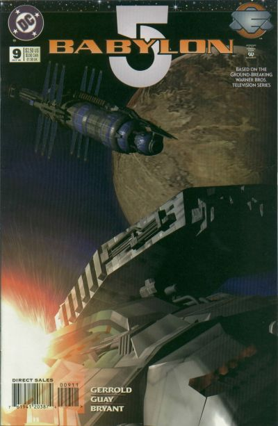 Cover for Babylon 5 (DC, 1995 series) #9 [Direct Sales]