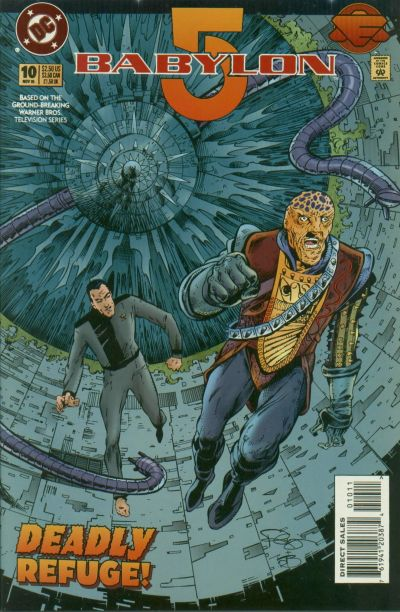 Cover for Babylon 5 (DC, 1995 series) #10 [Direct Sales]