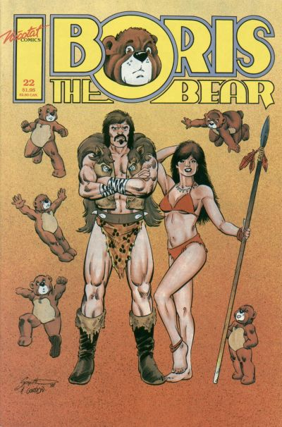 Cover for Boris the Bear (Nicotat Comics, 1987 series) #22