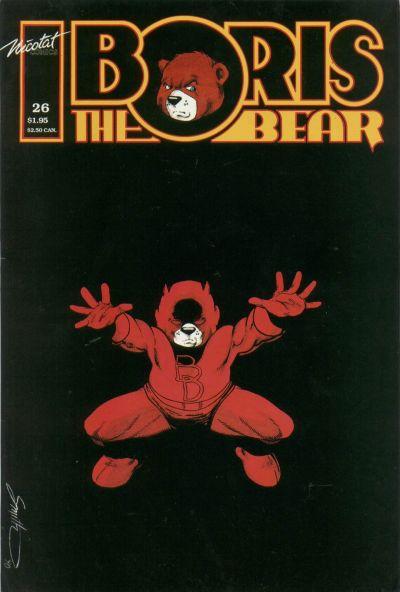 Cover for Boris the Bear (Nicotat Comics, 1987 series) #26