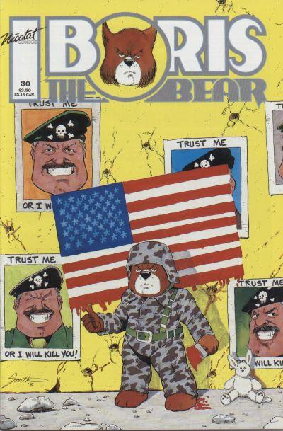 Cover for Boris the Bear (Nicotat Comics, 1987 series) #30