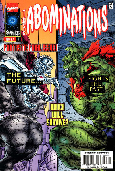 Cover for Abominations (Marvel, 1996 series) #3
