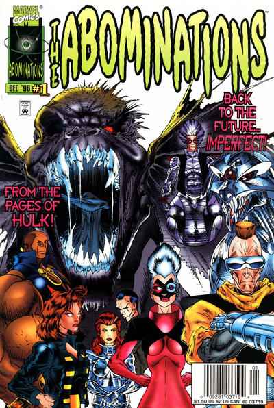 Cover for Abominations (Marvel, 1996 series) #1 [Newsstand]