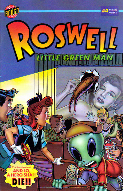 Cover for Roswell: Little Green Man (Bongo, 1996 series) #4