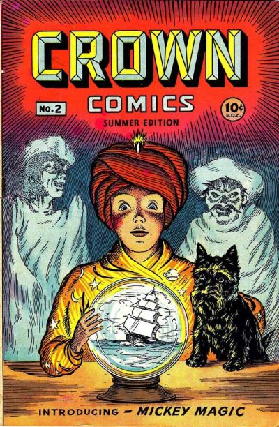 Cover for Crown Comics (McCombs, 1945 series) #2