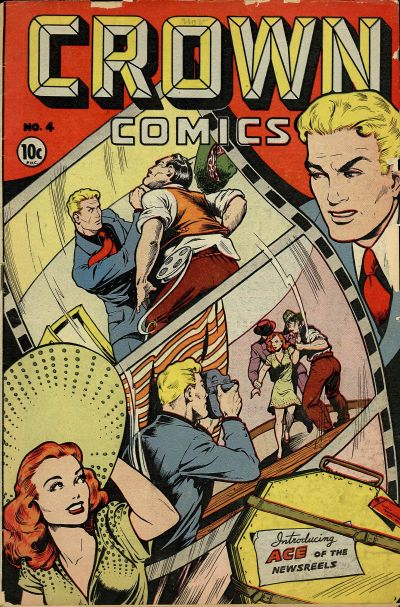 Cover for Crown Comics (McCombs, 1945 series) #4