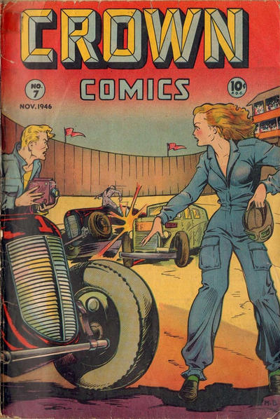 Cover for Crown Comics (McCombs, 1945 series) #7