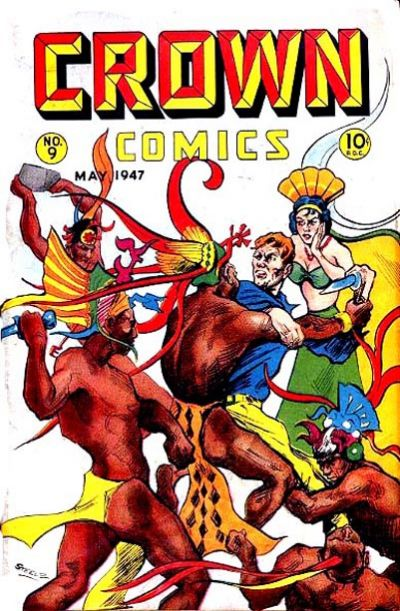 Cover for Crown Comics (McCombs, 1945 series) #9
