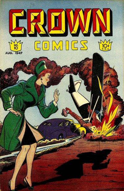 Cover for Crown Comics (McCombs, 1945 series) #10