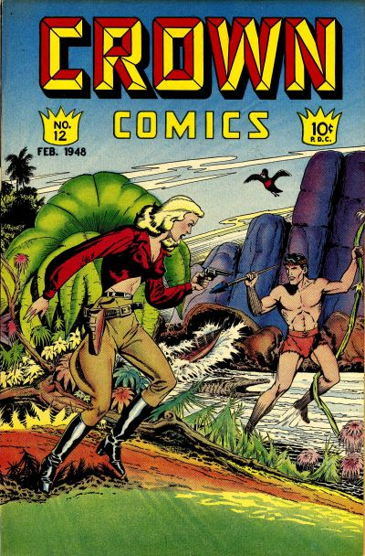 Cover for Crown Comics (McCombs, 1945 series) #12