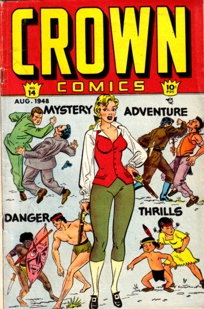 Cover for Crown Comics (McCombs, 1945 series) #14