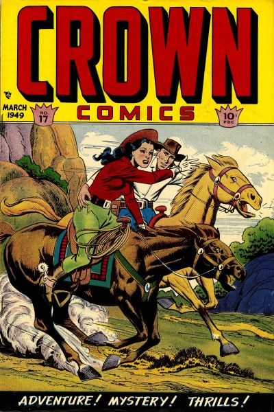 Cover for Crown Comics (McCombs, 1945 series) #17