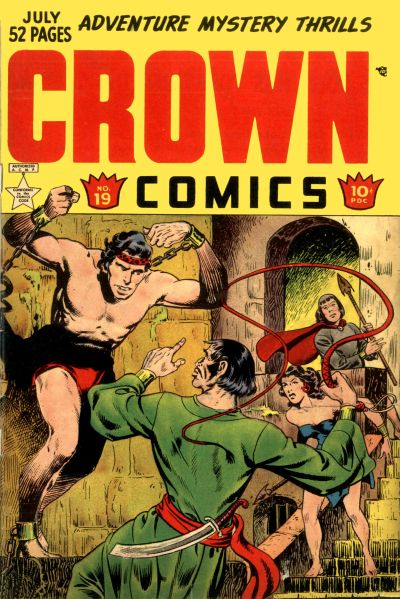 Cover for Crown Comics (McCombs, 1945 series) #19