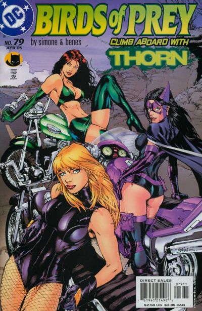 Cover for Birds of Prey (DC, 1999 series) #79
