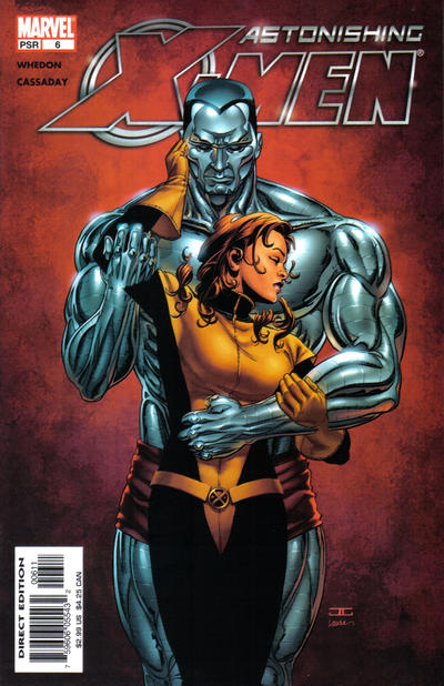 Cover for Astonishing X-Men (Marvel, 2004 series) #6 [Direct Edition]