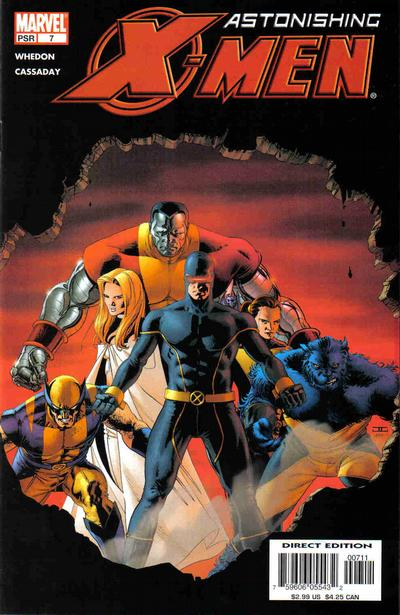 "Cover for Astonishing X-Men (Marvel, 2004 series) #7 [""Limited Edition"" 2nd Print]"