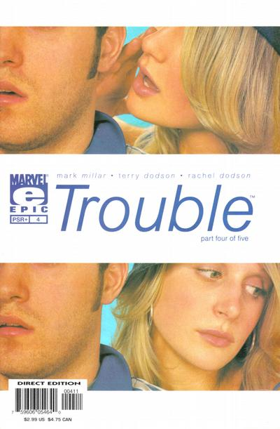Cover for Trouble (Marvel, 2003 series) #4