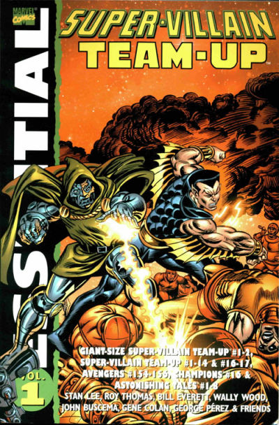 Cover for Essential Super-Villain Team-Up (Marvel, 2004 series) #1