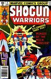 Cover for Shogun Warriors (Marvel, 1979 series) #4