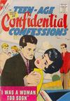 Cover for Teen-Age Confidential Confessions (Charlton, 1960 series) #12