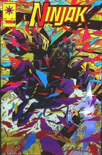 Cover Thumbnail for Ninjak (Acclaim / Valiant, 1994 series) #1 [Gold Logo]