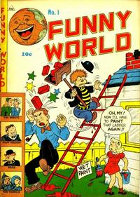 Cover Thumbnail for Funny World (Marbak Press, 1947 series) #1