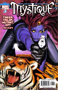 Cover Thumbnail for Mystique (Marvel, 2003 series) #8