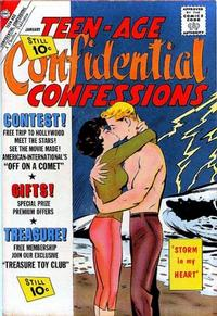 Cover Thumbnail for Teen-Age Confidential Confessions (Charlton, 1960 series) #10
