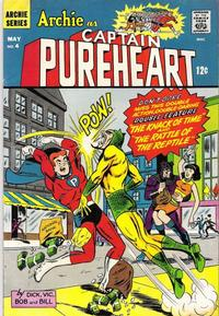 Cover Thumbnail for Archie as Capt. Pureheart (Archie, 1967 series) #4