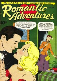 Cover Thumbnail for Romantic Adventures (American Comics Group, 1949 series) #1