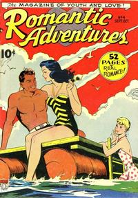 Cover Thumbnail for Romantic Adventures (American Comics Group, 1949 series) #4