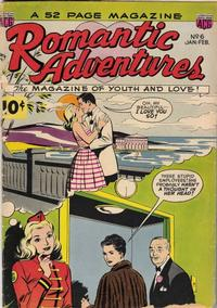 Cover Thumbnail for Romantic Adventures (American Comics Group, 1949 series) #6