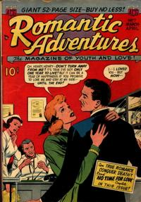 Cover Thumbnail for Romantic Adventures (American Comics Group, 1949 series) #7