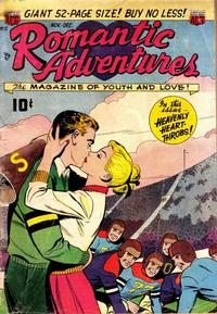 Cover Thumbnail for Romantic Adventures (American Comics Group, 1949 series) #17