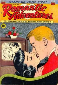 Cover Thumbnail for Romantic Adventures (American Comics Group, 1949 series) #21