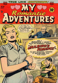 Cover Thumbnail for Romantic Adventures (American Comics Group, 1949 series) #49