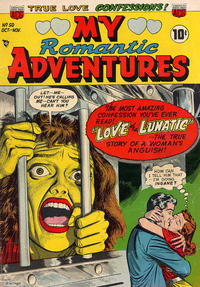 Cover Thumbnail for Romantic Adventures (American Comics Group, 1949 series) #50